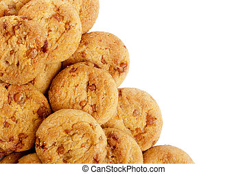 Home-baked cookies - Sweet home-baked cookies with a...