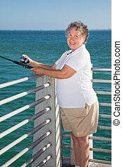 Senior Fishing Fun