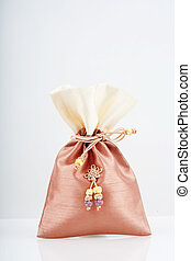 Traditional accessory Lucky bag in south korea.Bokjumeoni