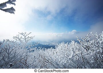 South Korea beautiful Mt.Deogyusan