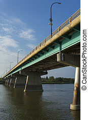 Dienfenbaker Bridge in Prince Albert - The Diefenbaker...