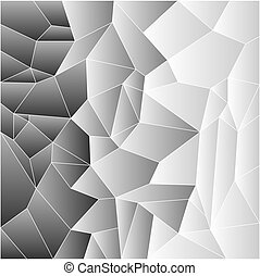 Mosaic tiles in greys - Mosaic tile background in shades of...
