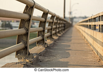 Details of Bridge - The broken fragments of the...