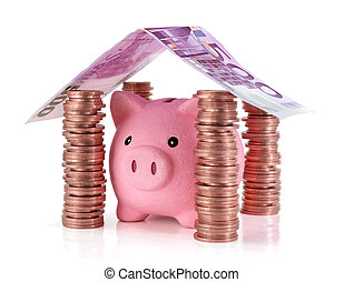 put your savings safe - Savings for real estate project