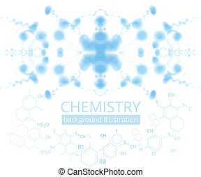 Molecule illustration