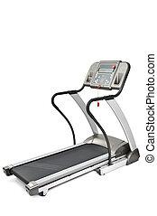 gimnasio, equipo, Girar, máquina, cardio,...