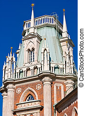 Tsaritsyno in Moscow - Place of Tsaritsyno Museum Reserve...