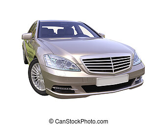 Modern luxury executive car