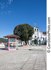 Zinacantan church, Chiapas, Mexico - The curch of...
