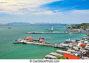 Port city Thailand