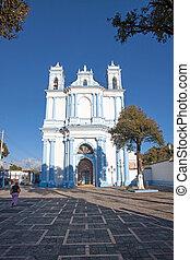 The Santa Lucia church in San Cristobal de las Casas, Chiapas, Mexico