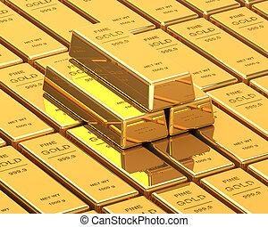 Big Set of Gold bars
