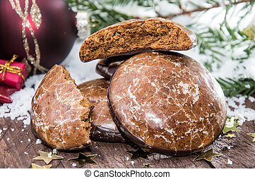 Gingerbread - Fresh baked Gingerbread and Christmas...