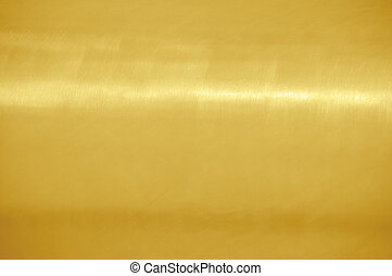 Gold texture - Fine brushed golden texture with horizontal...
