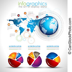 Collection of quality Infographics objects A lot of...