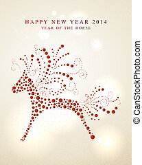 Ornament horse Chinese New Year 2014 - 2014 Chinese New Year...