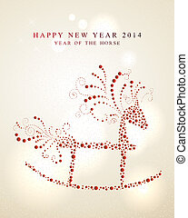 Chinese Zodiac New Year of the Horse