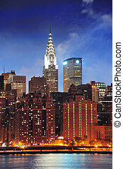 Chrysler Building in New York City Manhattan - NEW YORK...