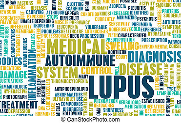 Lupus Disease Concept as a Medical Condition