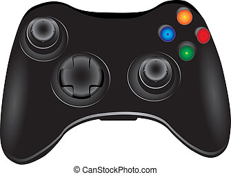 Gamepad - Video game controller, joystick for video games....