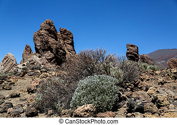 Teide National Park in Tenerife, Spain