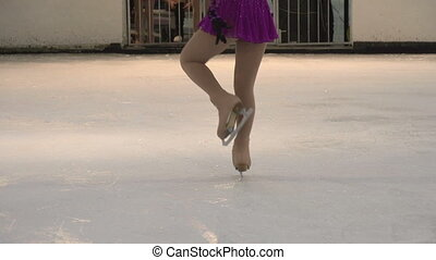 Performance on Ice - Young skater solo program
