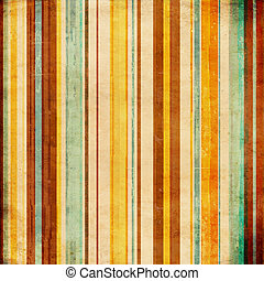 Striped blue, brown and green  background