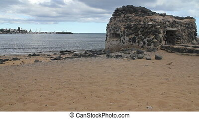 Castle in Caleta de Fuste. - Ancient Castle in Caleta de...