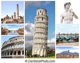 Landmarks of Italy - Collection - landmarks of Italy