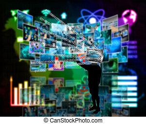 silhouette monitor