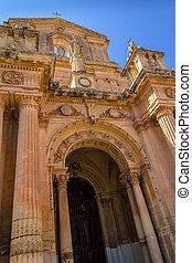 St Nicholas Church Facade - Facade of the St Nicholas church...