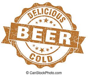 delizioso, freddo, birra, marrone, grunge, vendemmia,...