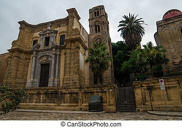 Church in Palermo, Sicily, Italy