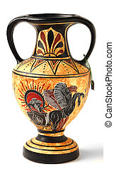 Souvenir Cypriot Hellenistic amphora - A reproduction of a...