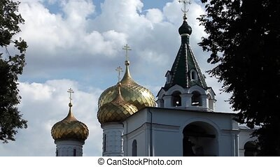 Church Bells - HD1080: View of the Church of Ipatiev...