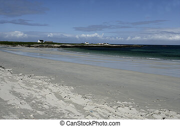Balephetrush Bay, Tiree in the Hebrides, Scotland