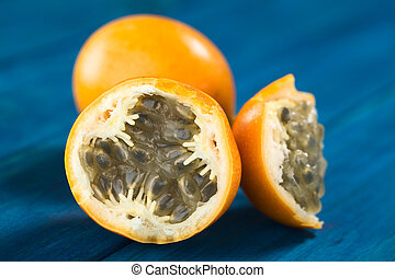 Sweet Granadilla or Grenadia - Sweet granadilla or grenadia...
