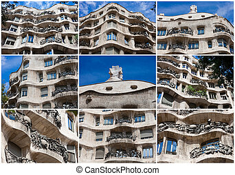 Casa Mila - Famous Gaudis masterpiece - Casa Mila or La...
