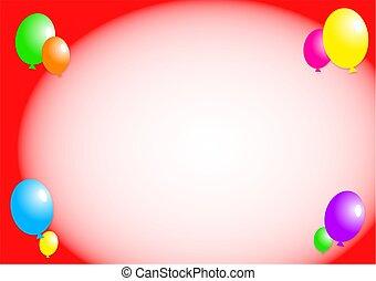 balloon, borda