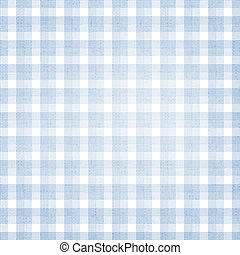 Plaid Background - Background with colorful blue and white...