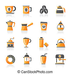 coffee industry icons