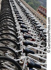 bicycles, 横列