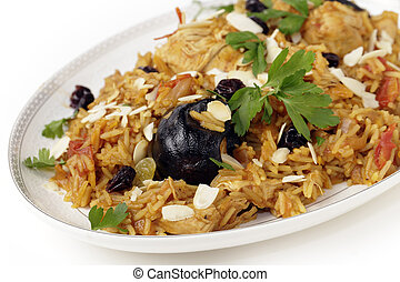 Chicken machboos - An authentic Saudi chicken kabsa known in...