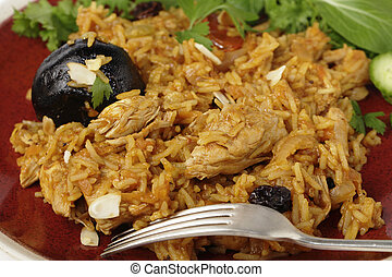Chicken kabsa macro - An authentic Saudi chicken kabsa known...