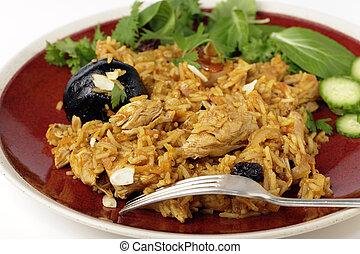 Chicken kabsa dinner - An authentic Saudi chicken kabsa...