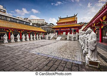 Confucius Shrine - Cofucius Shrine in Nagasaki, Japan.