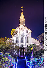 Japanese Chruch - Oura Roman Catholic Church in Nagasaki,...
