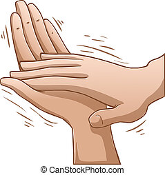 Clapping Hands - A vector illustration of clapping hands.