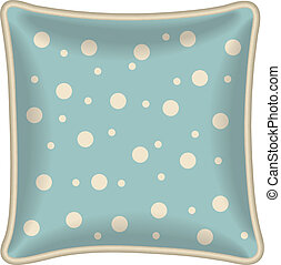 Decorative pillow - Interior design element: Decorative...