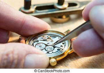 Repair of watches - Special tools for repair of clocks